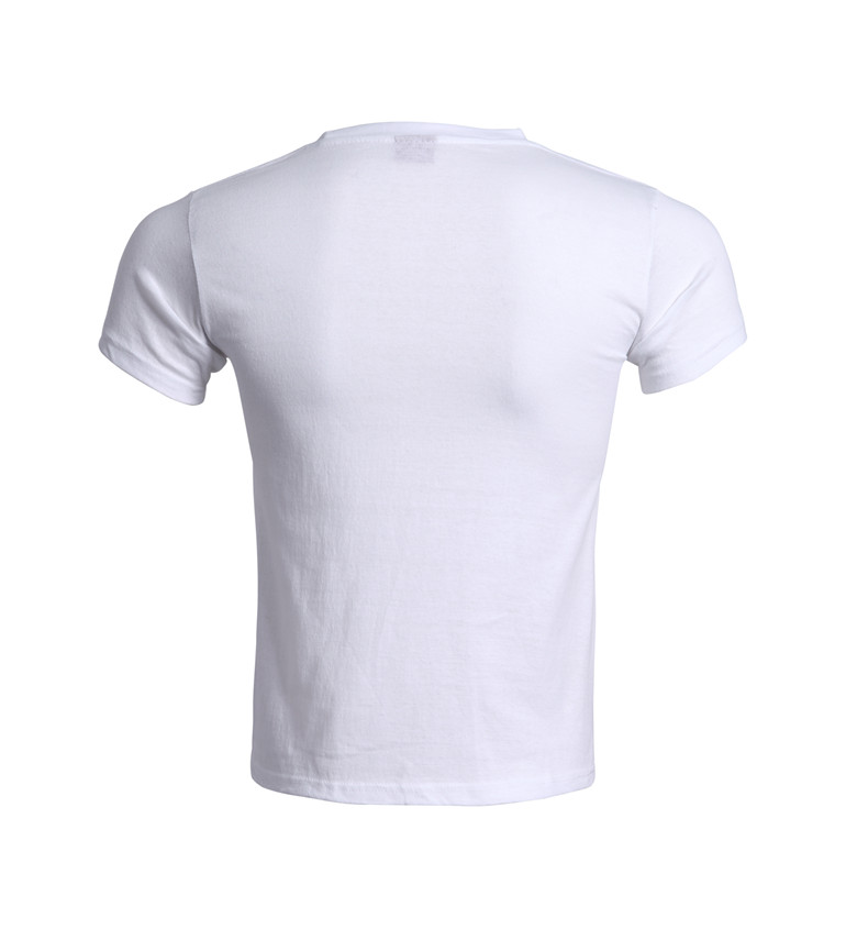 custom wholesale cotton print and embroidery promotion t-shirt