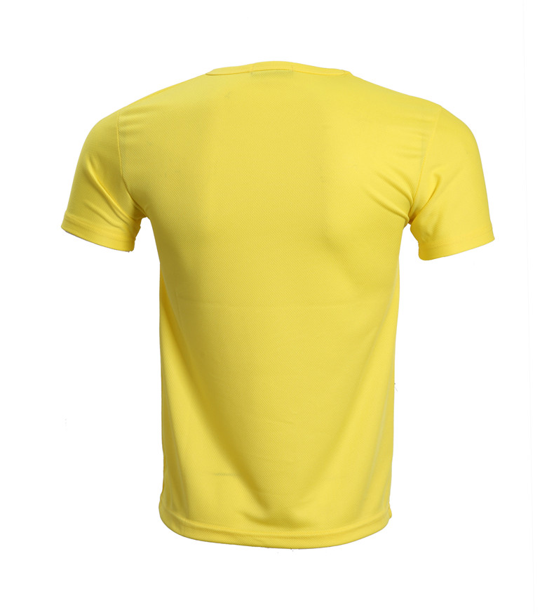 custom wholesale sport  material dryfit t-shirt print and embroidery promotion t-shirt